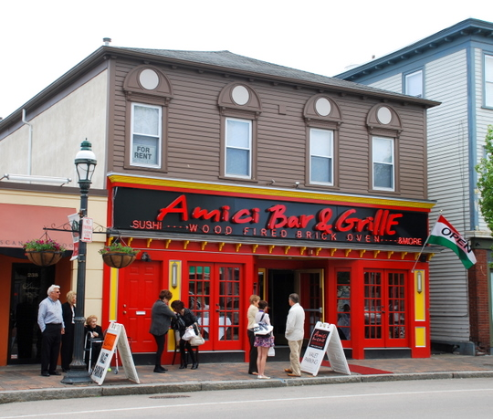 Amici Bar and Grille in Providence, Rhode Island