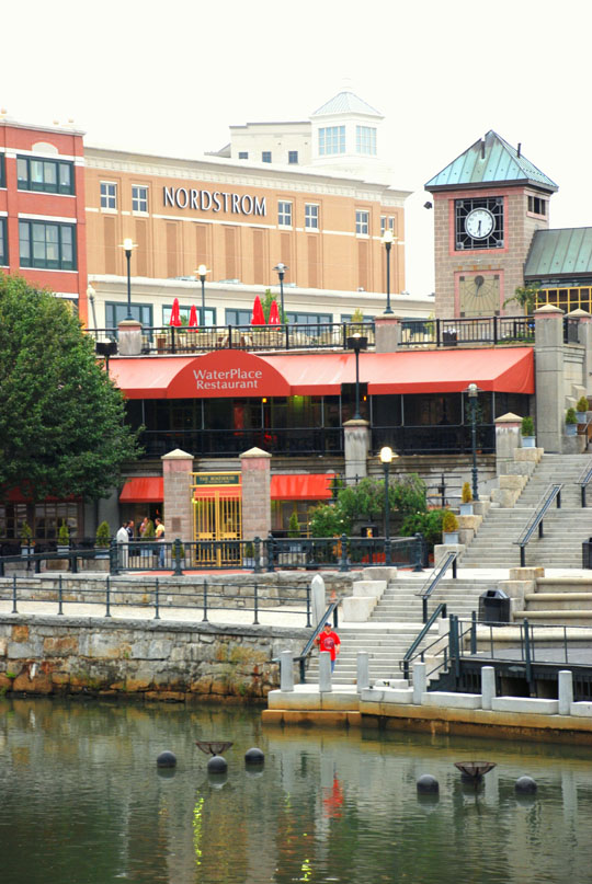 Water Place in Providence, Rhode Island